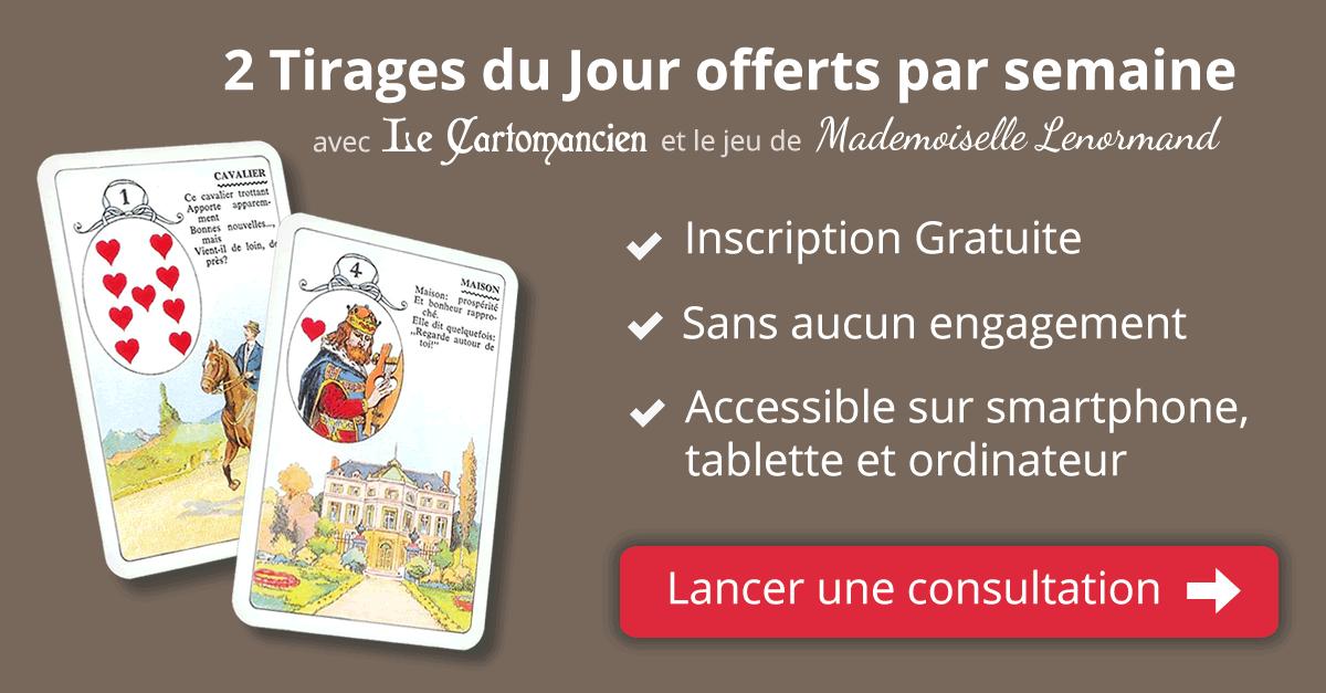 Voyance avec le tarot de Marseille et Lenormand - Tirage Tarot Gratuit dc250e29503b
